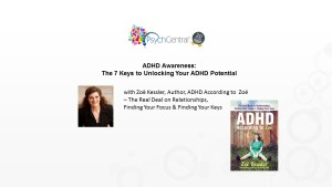 ADHD Awareness Month Webinar 1 th
