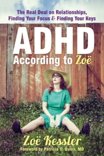 ADHD According to Zoë, a book for women with ADHD, Attention Deficit Hyperactivity Disorder